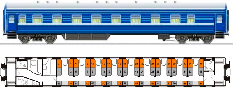 Плацкартный вагон «ПЛ»
