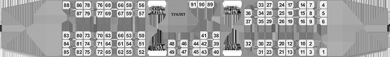 Вагон поездов региональных линий бизнес-класса ДП1